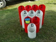 Hey, I found this really awesome Etsy listing at https://www.etsy.com/listing/531659819/pipe-ball-yard-game-outdoor-game-family