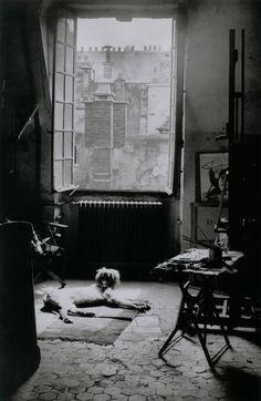 L'Atelier de Picasso, Rue des Grands-Augustins, Paris 6e, May 9, 1944 Photo by Brassaï, Paris.