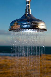 DIY Project: Outdoor Solar Shower