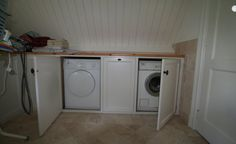 Kast Voor Wasmachine : Wasmachine en droger kunnen worden ingebouwd zelfs achter deuren