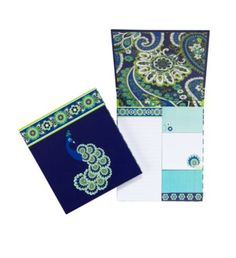 """7. Stunning stationary. """"Forget-me-not"""" in Rhythm and Blues from Vera Bradley. #modcloth #makeitwork"""