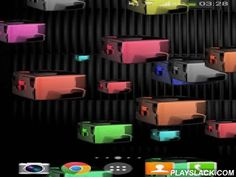 Glow Cubes HD Live Wallpaper  Android App - playslack.com ,  Glow Cubes HD is a gorgeous live wallpaper whith cool colored cubes. Choose between lot of colored backgrounds and customize cubes as you want by determining the direction,density,speed and lot of more options. Also you can play,pop as many cubes you can and the points will be shown in the background (you can Hide or Display the point counter at the Settings).Glow Cubes HD has tons of settings:- CHOOSE BACKGROUND - Select between…