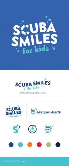 Branding | Scuba Smiles | Creative Parc (@creativeparcsa) • Instagram |#BrandIdentity#BrandStrategy#GraphicDesign