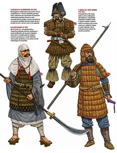 Early japanese warriors