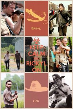 Keep calm and Rickyl on - The Walking Dead - Fangirl - Rickyl