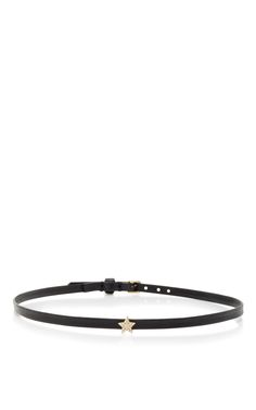 Mini Star Leather Choker by EF COLLECTION Now Available on Moda Operandi