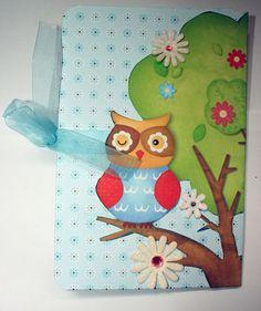 Mini álbum owl 4 close