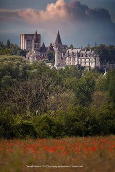 Château de Loches, Indre et Loire