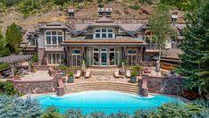 A $48.5 Million Mansion Set in Aspen's Famed Red Mountain Enclave – Robb Report Aspen Colorado, Colorado Homes, European Style Homes, New York City Apartment, Italian Villa, Newport Beach, Sky High, Outdoor Entertaining, Rocky Mountains