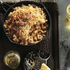Best baked pasta: French onion macaroni and cheese Mac Cheese Recipes, Macaroni N Cheese Recipe, Baked Pasta Recipes, Macaroni And Cheese, Cooking Recipes, Pasta Recipies, Rice Recipes, Cooking Tips, One Pan Dinner Recipes