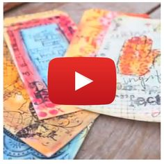 Mixed Media Collage: Fun with Art! Video By Christy Tomlinson