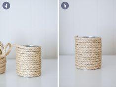 Nautical Rope Vase