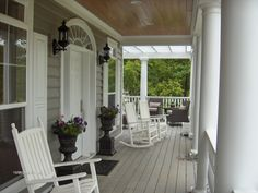 Vogelsong Porch