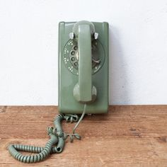 1960s Rotary Telephone now featured on Fab.  Caleb wanted to know what the long thing was!