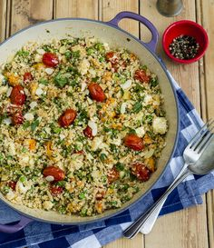 """The first time I came across Cauliflower Couscous was on www. drizzleanddip.com and it has been a staple ever since for """"low carb"""" dinners. I am sure the Banting Diet crowd will just love this and ..."""