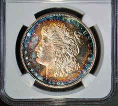 1881-S MORGAN SILVER DOLLAR ~ NGC STAR DESIGNATION MS 64* and CAC STICKERED!