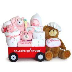 Deluxe All Girl Wagon Baby Gift