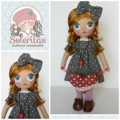 Soleritas Muñecas Artesanales: Valentina