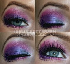 Purple and Pink and Glitter #Makeup