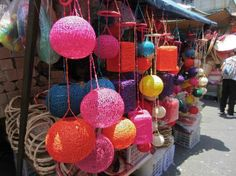 Divisoria Market, Manila Picture: Great colours - Check out Tripadvisor members' 122 candid photos and videos of Divisoria Market World Street, Flower Market, Colorful Pictures, Manila, Trip Advisor, Colours, Marketing, Party, Photos