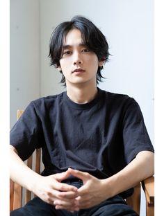 Japanese Men Hairstyle, Korean Men Hairstyle, Mullet Hairstyle, Edgy Short Hair, Asian Short Hair, Asian Hair Male, Haircuts For Long Hair, Cool Hairstyles, Boy Hair Drawing