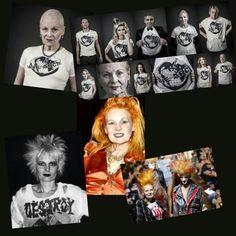 VIVIANNE WESTWOOD, es unaDISEÑADORA de modaBRITÁNICAconsiderada como la PRINCIPAL RESPONSABLE de la estética asociada con el PUNK y elNEW WAVE. Westwood, como compañera deMalcolm McLareny dueña de la boutiqueSEX, estuvo directamente involucrada con la bandaSEX PISTIOLSy el surgimiento delmovimiento punk en el Reino Unido. También con Viviane westwood, arranca con la moda pirata. 1981.