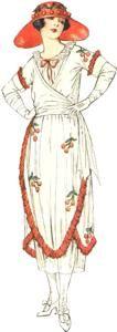 1920 tulip dress