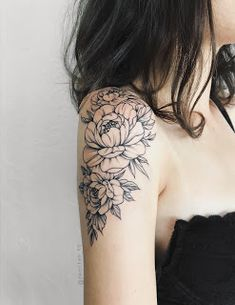 Demchenko Nastya – foot tattoos for women quotes Carnation Flower Tattoo, Tatoo Flowers, Peony Flower Tattoos, Peonies Tattoo, Flower Tattoo Designs, Lotus Flower, Floral Arm Tattoo, Flower Tattoo On Forearm, Aster Flower