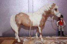 Name: Misty Breed: Chincoteague Gender: Mare  ( please go to [BREYER/SCHLEICH HORSE CONTESTS] in my board's  and LIKE this picture )