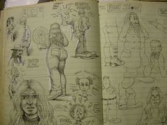 More Crumb sketchbook