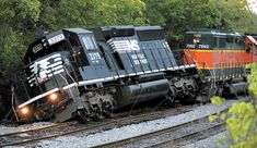 Norfolk Southern train derails ~ Boston