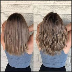 Beige brondes Cut and color correction by cute hair colors - Hair Color Ash Brown Hair Color, Brown Hair With Highlights, Light Brown Hair, Dark Hair, Beige Hair Color, Sandy Brown Hair, Ash Color, Brown Hair Balayage, Hair Color Balayage