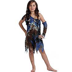 Disfraz de Troglodita para niña #disfraces #infantil