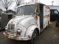 Divco Model 200 B Refrigerated Milk Truck Whole Salvage Parts Meadville. PA