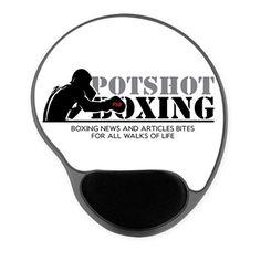 Potshot Boxing Logo Mousepad