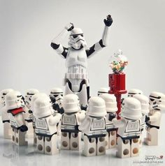 LEGO Star Wars Silver Storm Trooper by Mostly Bricks