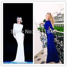 Find More Evening Dresses Information about Hottest Style Boat Neck Sexy Low Back White Evening Dresses Long Sleeves Women Formal Long Dress Evening Gonws robe de soiree,High Quality boat direction,China boat neck dress Suppliers, Cheap dress shirt and tie from Ice-Beauty-Dresses on Aliexpress.com