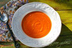 Sweet potato ginger soup #vegan