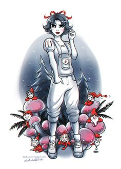 Snow White and the Seven Dwarfs | d a e k a z u