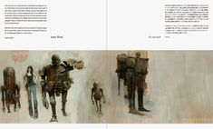 Zawa-zawa: Treasured Art Works of Ashley Wood #Painting #Sketch #Threea #Toy #Ashley #Wood #Drawing #Comic #Illustration #Robot #Zawazawa #Figure