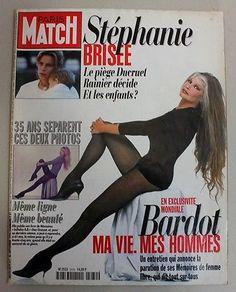 1996 Magazine Paris Match/ BRIGITTE BARDOT