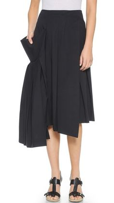 351ee3685b02 Marc by Marc Jacobs Summer Cotton Wrap Skirt-fabric=twill. pleated and  draped