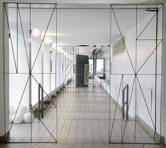 corridor, wire frames