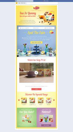 Lipton Spot The Cake - Facebook Tab