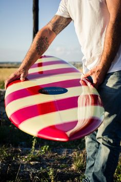 Candy cane! WAVEGLIDERS // Custom Surfboards // Handmade by Nico