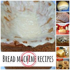 7 bread machine recipes