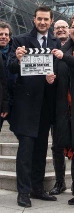 WOO!! Richard Armitage representing #BerlinStation