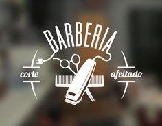 ? Diseño clásico pero actual para esta propuesta en vinilo para decorar una barbería. Puedes servirte de este vinilo de corte para atraer nuevos clientes colocándolo en escaparates, cristaleras o vidrieras a la vista de transeúntes o realzar las paredes del interior...