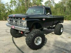 Trendy Old Cars And Trucks Ford Awesome Ideas 79 Ford Truck, Ford Pickup Trucks, Ford 4x4, 4x4 Trucks, Diesel Trucks, Custom Trucks, Lifted Trucks, Cool Trucks, Chevy Trucks