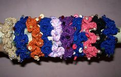 Beaded Scrunchie